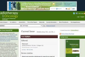 Radiotherapy and Oncology